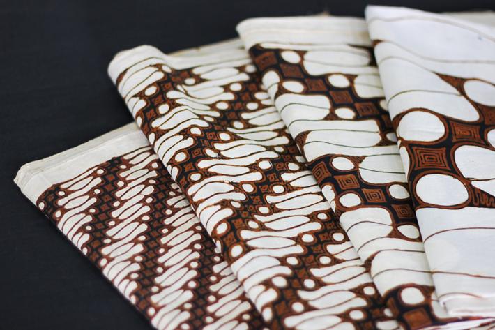 Batik z motywem zastrzeżonym dla Sułtana